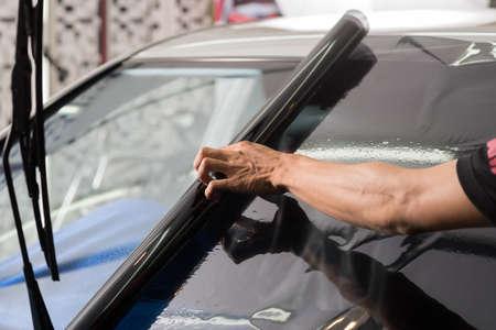 ventana de coche de la serie de teñido: Instalación de tinte de la ventana de coche