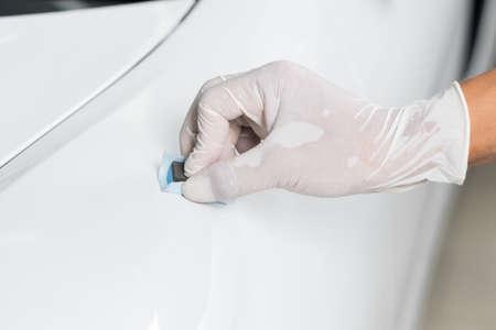 detailing: Car detailing series : Coating white car paint