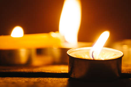 Lit Candles Stock Photos & Pictures. Royalty Free Lit Candles ...