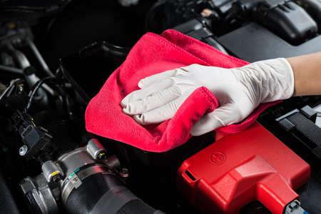 motor car: Car detailing series : Cleaning car engine