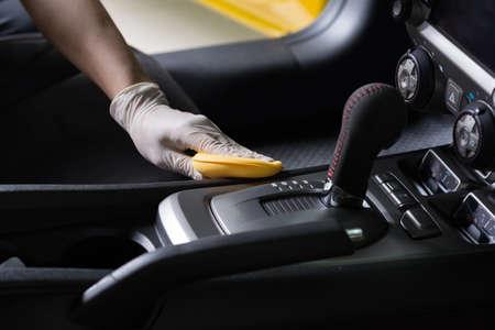 Auto dettagliare serie: pulizia interni auto