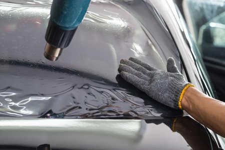 Serie di vetri oscuranti per auto: pellicola parabrezza termoretraibile
