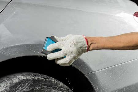 Auto body repair series: Wet sanding car paint