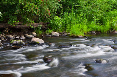 The Little AuSable River late in the day