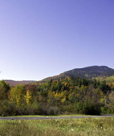 Fall in the Adirondack Mountains around Lake Placid, Keene, North Elba Stock Photo - 10871322