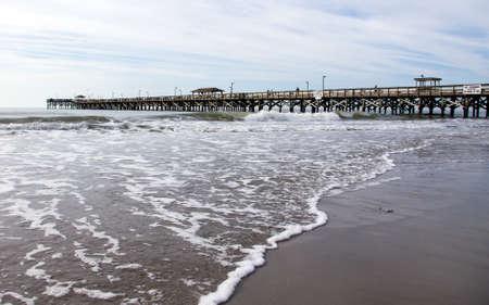 myrtle beach: Myrtle Beach pier Stock Photo