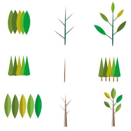 season: tree plan pattern season