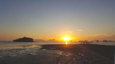Sun rise At Koh Yao Noi