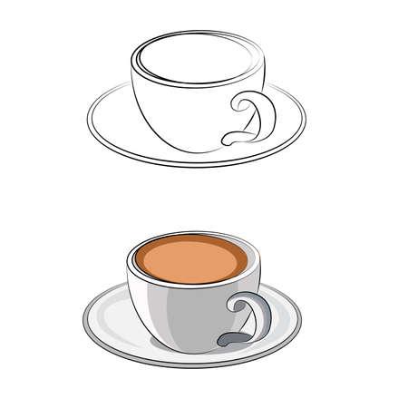 coffee cut beverage
