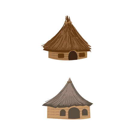 capanna da campeggio disegno
