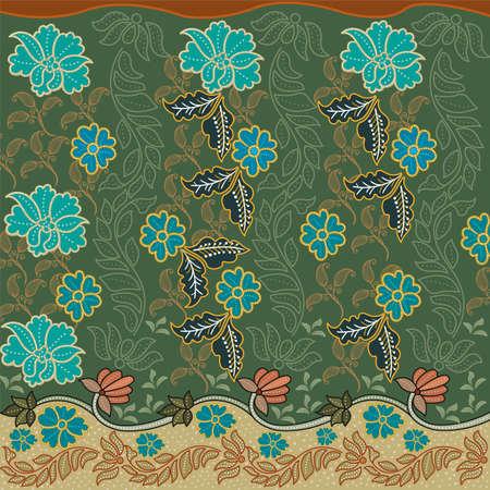 batik texture sarong cloth 向量圖像