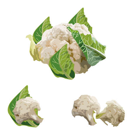fresh cauliflower organic natural