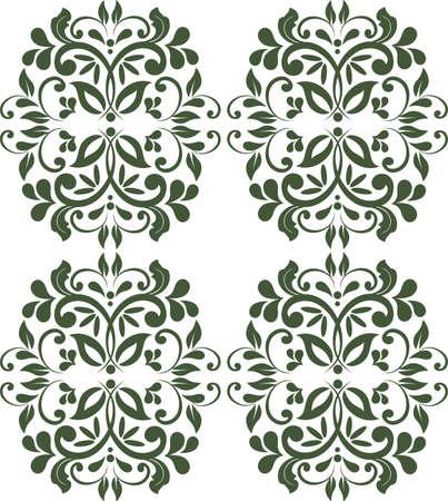 Vintage Royal classic ornament border background 向量圖像
