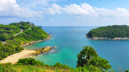 View Promthep Cape at south of Phuket 版權商用圖片