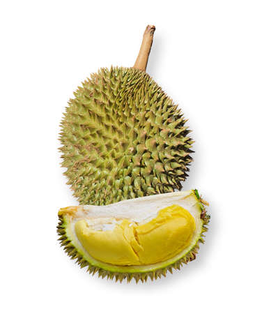 fresh healthy durian fruit food in thailand