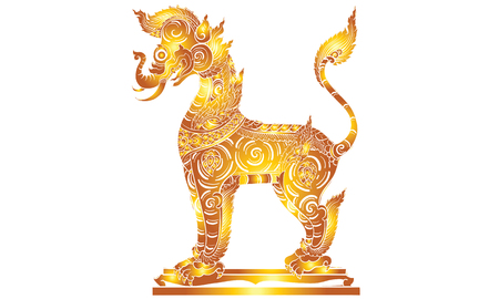 thai traditional painting Illustration