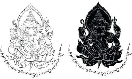 Thai traditional painting, traditional tattoo
