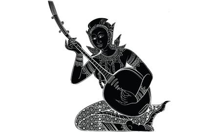 Thai tradition tattoo