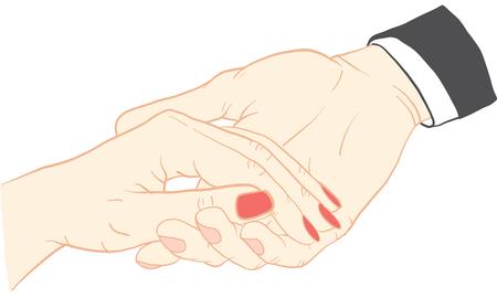 손 활동 벡터입니다.