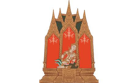 Thai traditional painting, tattoo