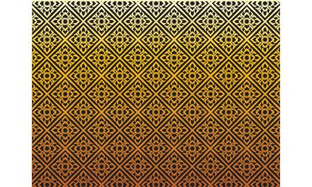 thai painting pattern, vector Çizim