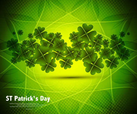 new stylish green st patrick Stock Vector - 17421908