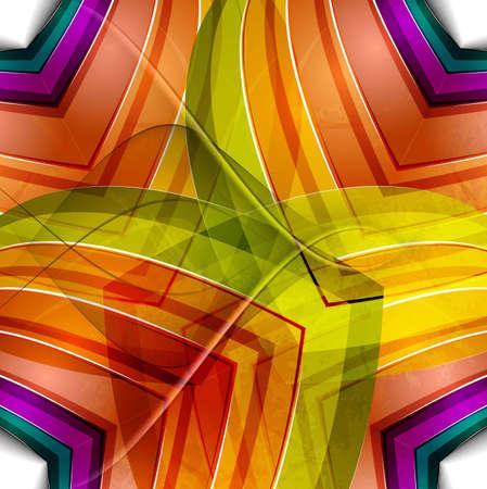shin: abstract design colorful new design Illustration