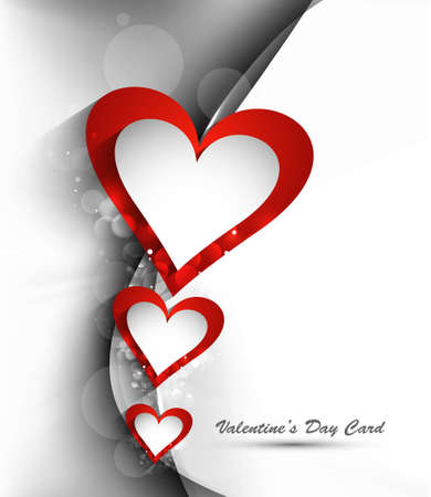 Beautiful design with glittering heart vector Stock Vector - 17548623