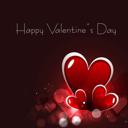 Celebration heart bright colorful card vector design Stock Vector - 17548663