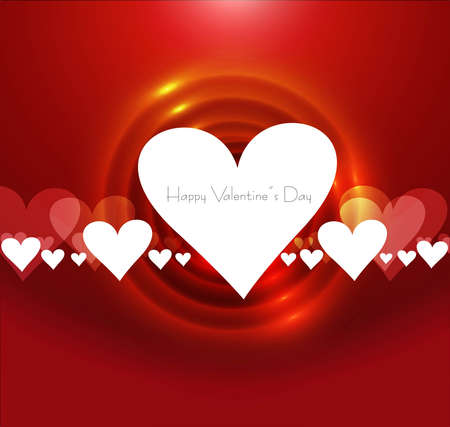 Valentine's day or Wedding colorful card vector background Stock Vector - 17548651