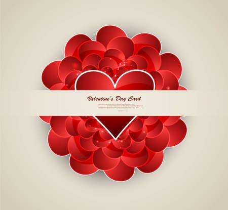 tarjeta de presentacion: D�a los corazones de la boda vector tarjeta de presentaci�n de San Valent�n