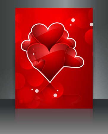 Beautiful Valentine Stock Vector - 17548720
