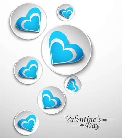 Hearts circle design for valentine,s day vector Stock Vector - 17679530