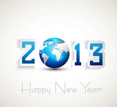 2013 happy new year celebration and business presentations design Vector