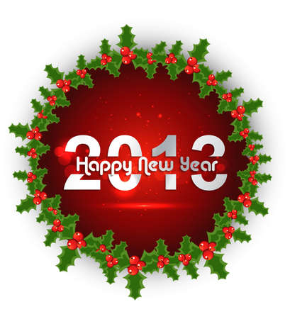 New year stylish 2013 merry christmas background  Stock Vector - 17790797