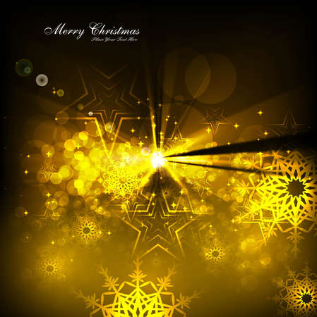 merry christmas celebration card background Stock Vector - 17945963