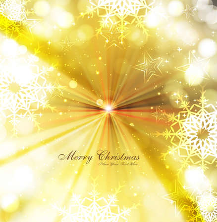 merry christmas celebration colorful card background illustration Stock Vector - 17946036