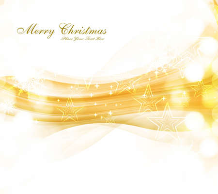 merry christmas celebration colorful wave card background vector  Stock Vector - 18026010