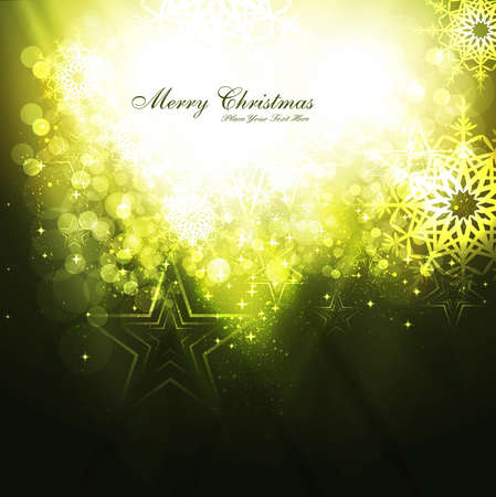 merry christmas celebration bright colorful vector design Stock Vector - 18048897
