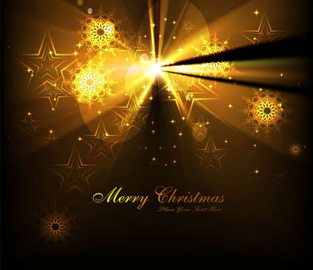 merry christmas tree celebration bright colorful card  Vector