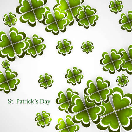 Abstract background of St Patrick Day colorful vector design Stock Vector - 18210677