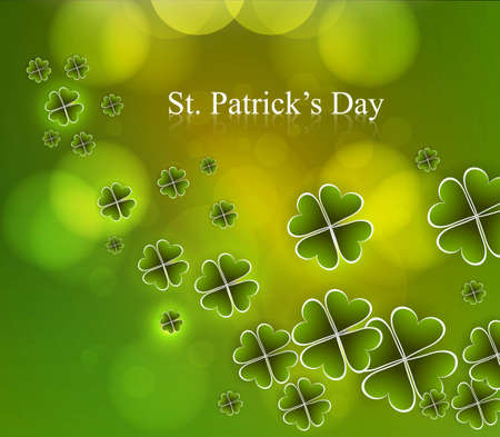 Happy St  Patrick Stock Vector - 18210681