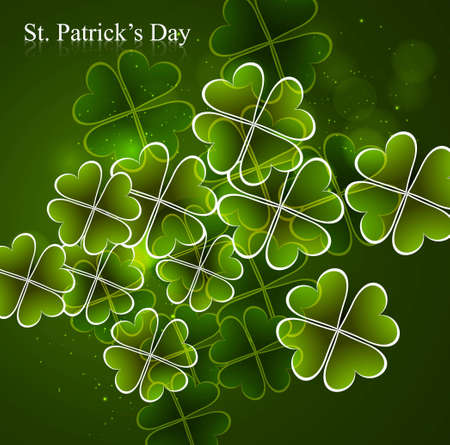 Happy St  Patrick Stock Vector - 18210684