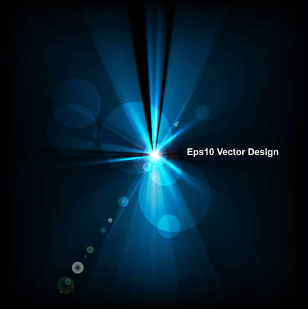 abstract blue rays colorful background Illustration