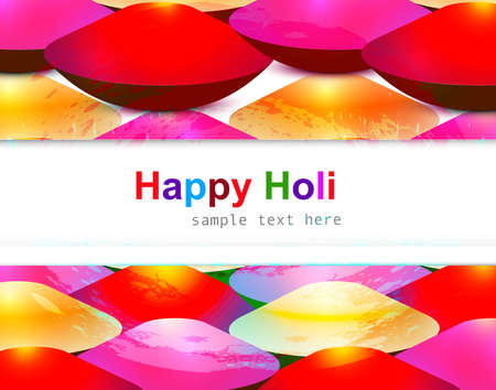 gulal: abstract gulal background of holi festival background Illustration
