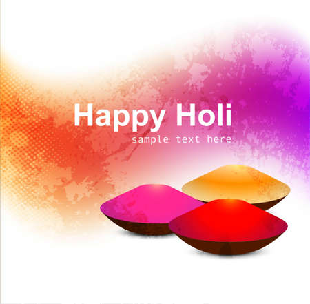gulal: abstract gulal background of holi festival design Illustration