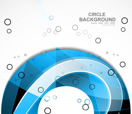 whit: abstract blue business stylish colorful wave whit background vector