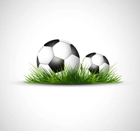 abstract football green grass colorful vector Vector