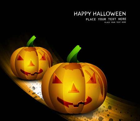 Halloween pumpkin Party vector Stock Vector - 18838615