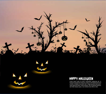 happy halloween colorful vector design Stock Vector - 18838632